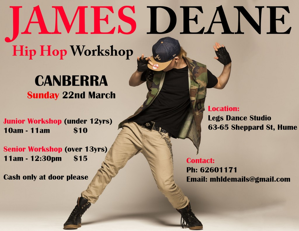 James Deane Workshop Flyer